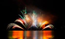 Фейерверки торжества стоковое фото rf