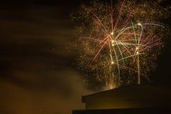 Фейерверки 2016 Стоковое Изображение