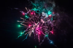 Фейерверки Стоковая Фотография RF