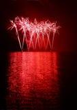 Фейерверки - Ignis Brunensis Стоковое фото RF
