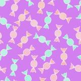 Фейерверк конфеты шаржа Стоковое Изображение