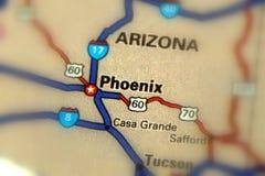 Феникс, Аризона - Соединенные Штаты u S Стоковое фото RF