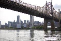 Ферзи - мост Нью-Йорка - Queensboro Стоковые Фото