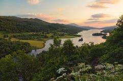 Ферзи осматривают в Шотландии Стоковое Изображение RF