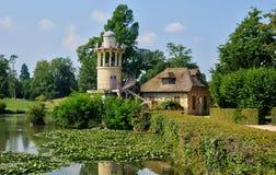 Ферзь Гамлет в парке дворца Версаль Стоковые Изображения RF