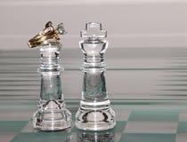 ферзь короля диамантов Стоковое Изображение RF