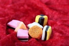 ферзь короля конфеты Стоковые Изображения