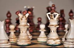 ферзь короля chees Стоковая Фотография RF