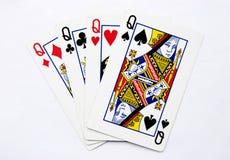 ферзь покера стоковое фото