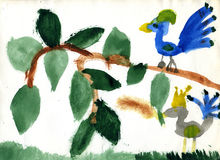 ферзь птицы просто Стоковые Фото