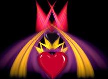 ферзь сердец Стоковое фото RF