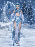 Ферзь снега Стоковые Изображения RF