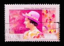 Ферзь Элизабет II, 58th день рождения serie ферзя Элизабета II, c стоковая фотография rf