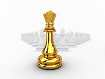 Ферзь Chessman Стоковое Изображение
