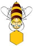 ферзь honeybee Стоковое фото RF