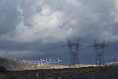 Ферма ветрянки Стоковое Изображение