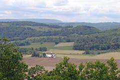 Ферма в долине Стоковые Фото