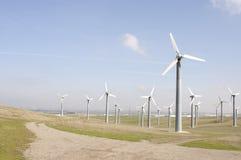 Ферма генераторов ветра Стоковые Изображения RF