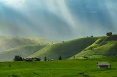 Ферма горы Стоковая Фотография RF