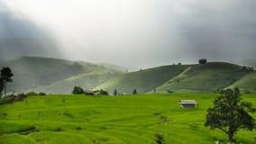 Ферма горы Стоковое фото RF