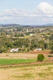Ферма и гора Стоковое фото RF