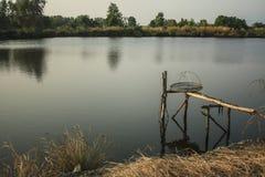 Ферма креветки природы Стоковые Фотографии RF