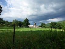 Ферма Нью-Йорка северной части штата Стоковые Фото