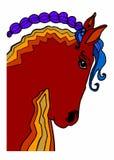 Ферма лошади Head Стоковые Изображения