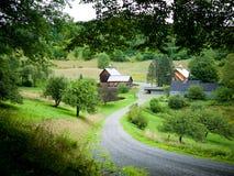 ферма полый сонный Вермонт Стоковое фото RF