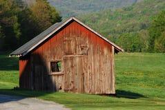 Ферма полинянная на солнечный день стоковые фотографии rf