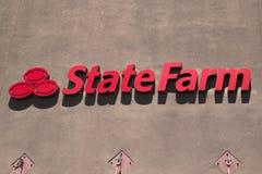 Ферма положения увеличивает франшизу Стоковое Изображение RF