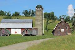 ферма старая Стоковые Фотографии RF