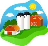 ферма Стоковое Изображение