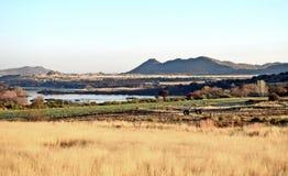 Ферма Karoo Стоковая Фотография
