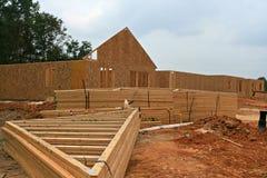 ферменная конструкция деревянная Стоковые Изображения