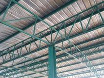 Ферменная конструкция крыши Стоковое Изображение