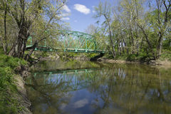 ферменная конструкция xenia моста Стоковые Фото