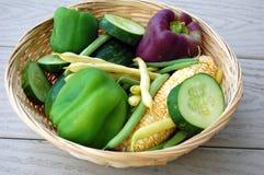 Фермеры органическое Vegtables Стоковые Фотографии RF