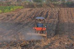 Фермер на тележке Стоковые Изображения