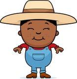 Фермер ребенка иллюстрация вектора
