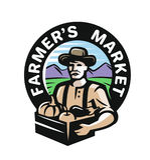 Фермер с овощами бесплатная иллюстрация