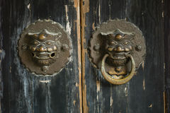 Фермуар двери Стоковые Фото