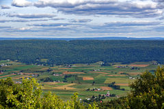 Фермы в большой долине Mifflin County Стоковая Фотография
