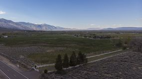 Фермы долины Carson стоковая фотография