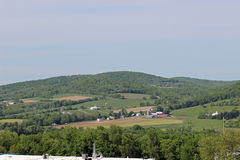 Фермы и обрабатываемая земля Стоковая Фотография RF