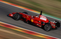 Феррари F1 Schumacher стоковое фото