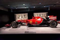 Феррари F14T F1 с которым состязалось Фернандо Алонсо стоковые изображения rf