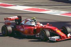 Феррари SF16-H Grand Prix F1 2016 Стоковое фото RF