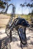 Фестиваль Австралия цацы скульптуры Huntress Стоковое Изображение