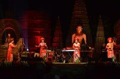 Фестиваль Будды в Bodhgaya, Бихаре, Индии стоковое фото